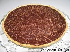 Temperos da Iza: Tarte de Chocolate e Leite Condensado