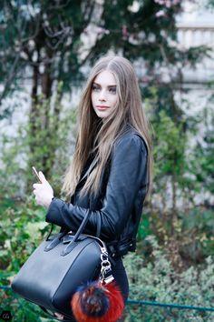 Lauren de Graaf by Claire Guillon - CGstreetstyle
