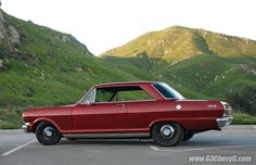 '63 Chevy II Nova 2 door hardtop. No muscle car collection would be complete without one of these.