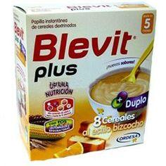 BLEVIT Plus Duplo 8 Cereales al estilo Bizcocho 600gr.