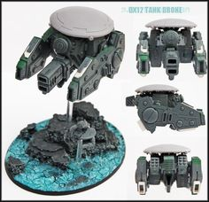 The Tau Kor'vesa Initiative (Tau Drone Themed Army) - Forum - DakkaDakka   Fear the spikey space wombles!