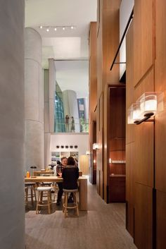 // // BeBu Café & Bar #Burger #Grill #Salad #Lounge #Tokyo #AndazTokyo. Enjoy outside terrace and small bar counter.