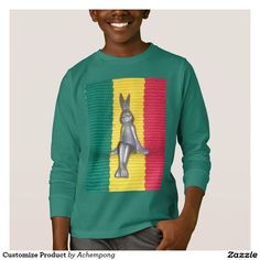 """Your Custom Kids' Basic Long Sleeve T-Shirt #""""Don't worry about a thing, every little thing is gonna be alright."""" That's what the king or reggae once said. Its not just about #colors #red, #golden #green that people like."""