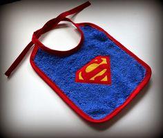 Aprende a hacer un babero de Superman muy fácil | El Rincon de Fri-Fri