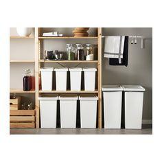 FILUR Tonne mit Deckel - 28 l - IKEA