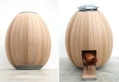 """Nogg Hen House.....I couldn't resist! If I was ever going to have chickens, they'd get a """"coop"""" like this. Lol..."""