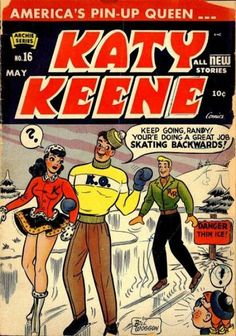 Katy Keene #16 May 1954