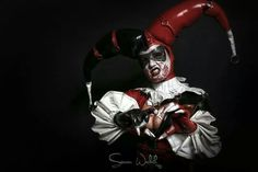 Picture by Simon Wolak model an designed by Lorena Valdez made by Don Corbitt # art#gore# harlequin#COMICS# photography#latex#fetish Check more of my work on facebook -simon dark side