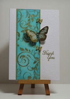 Thank you Flourish - Cathys Card Spot