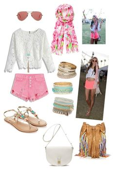 Eigthies n Gipsy:Alessandra Ambrosio at Coachella by akiramglam on Polyvore featuring polyvore, fashion, style, Chicwish, Monsoon, En Shalla, Mulberry, ALDO, Miss Selfridge, Ray-Ban and clothing
