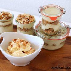 Mmmh Amaretto-Mousse mit Mandeln