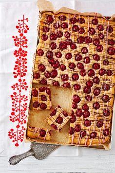 Schneller Kirsch-Nuss-Kuchen