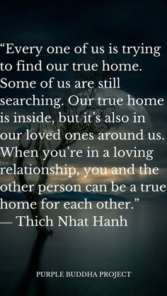 10 Spiritual Quotes From Thich Nhat Hanh - Purple Buddha Quotes