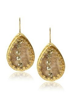 Presh Gold & Deva Teardrop Earrings