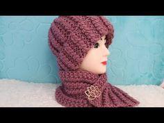 ШАПКА СПИЦАМИ . ТЕПЛАЯ, ПЛОТНАЯ, ОБЪЕМНАЯ !!! ПОДРОБНЫЙ МАСТЕР КЛАСС. - YouTube Craft Accessories, Beret, Knitting Projects, Crochet Baby, Knitted Hats, Diy And Crafts, Chrochet, Scarves, Winter Hats