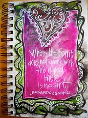 """spirit art"" ©joanne sharpe...love the white used in this"