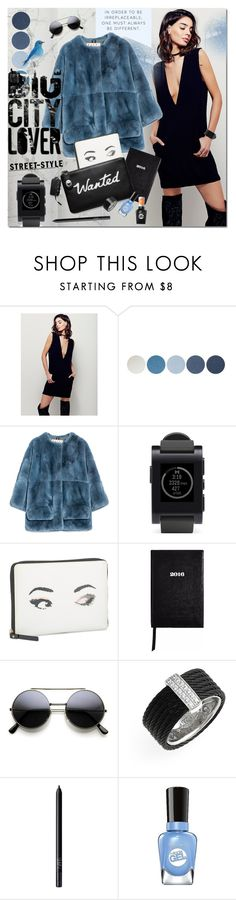 """""""Wanted"""" by justlovedesign ❤ liked on Polyvore featuring Free People, NYX, Marni, Pebble, Kate Spade, Sloane Stationery, Alor, NARS Cosmetics, Sally Hansen and women's clothing"""