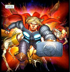 Thor by Pasqual Ferry