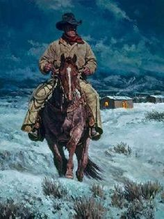 Bill Owen ~ The Cowboy Artist Real Cowboys, Cowboys And Indians, Cowboy Artwork, Cowboy Pictures, Cowboy Horse, Western Cowboy, West Art, Western Movies, Le Far West