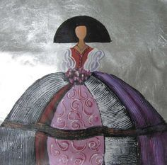 pintar meninas - Buscar con Google Easy Canvas Painting, Silk Painting, Scrapbooking Image, Ceramic Figures, Illustrations, Various Artists, Acrylic Art, Art Projects, Arts And Crafts