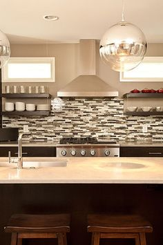 Galley Kitchen White Cabinets Design Ideas, Pictures, Remodel, and Decor - page 4 Color?