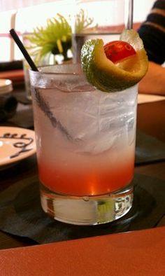 The Ginger (Domaine de Canton ginger liqueur, vodka, Fever Tree ginger beer) from Austin Cake Ball Kitchen & Bar