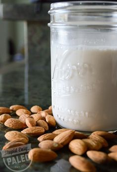 I have a request: please don't buy almond milk sold in cartons in the store. It's often processed using chemicals and is usually filled with sugar, chemica