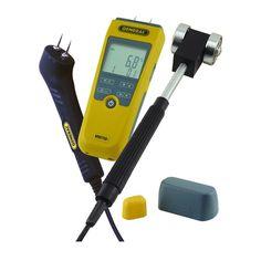 General Tools Deluxe Digital Moisture Meter Kit