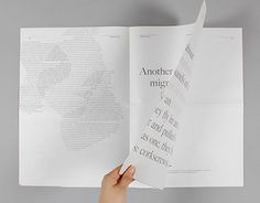 This publication exhibits a story of both the power of magnetism and the effects this has on the movement patterns of migratory birds. The work intends to express and investigate this phenomenon through the precise and expressive use of typography.