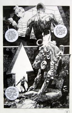 Sergio Toppi : Diabolik pg6 - Comic Art