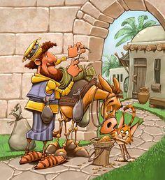Biblical Characters png - o bom samaritano
