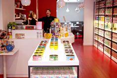 Kusmi Tea flagship store in Marylebone, London