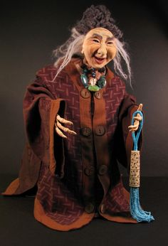 I have long admired this doll artist. Kobe Dolls