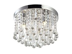 Features:  -Construction Material: Swarovski crystal, steel, led wire.  -Note: Light fixture not compatible with a dimmer switch.  -Assembly/Installation: Installation required, cannot install on slan