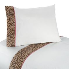 Queen Sheet Set for Pink and Brown Cheetah Girl Bedding Collection by Sweet Jojo Designs - jojo designs websites for friends Queen Size Sheets, Twin Sheets, Twin Sheet Sets, Bed Sheets, Twin Comforter Sets, Queen Bedding Sets, 100 Cotton Sheets, Cotton Sheet Sets, Girls Twin Bed