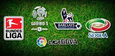 Resultado de los partidos, tabla y estadisticas de las Ligas de Futbol Europeas…