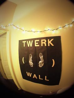 hahaha, could be a new and improved version of the twerk wall