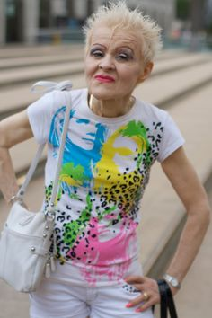 Punk Rock Forever | Just remember: you are never too old to be punk rock! (via Advanced Style)