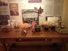 Enoch Turner Schoolhouse - gift table