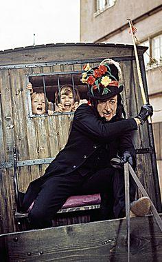 Chitty Chitty Bang Bang:  This Child Catcher terrified me!