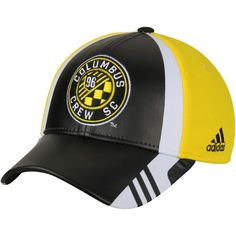 size 40 e2361 cd716 Men s Columbus Crew SC adidas Black Authentic Team Structured Adjustable Hat,  Your Price   25.99