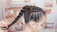 Girls Hairdos, Cute Little Girl Hairstyles, Baby Girl Hairstyles, Princess Hairstyles, Kids Hairstyle, High Ponytail Hairstyles, Toddler Hairstyles, High Ponytails, Easy Hairstyles