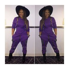 Erica Campbell fashion style. Stylish Outfits, Fashion Outfits, Womens Fashion, Erica Campbell, Mary Mary, Purple Fashion, Shades Of Purple, Krystal, Music Artists