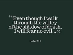 Psalm 23:4 Popular Bible Verses, Encouraging Bible Verses, Bible Encouragement, Prayer Verses, Favorite Bible Verses, Bible Verses Quotes, Scriptures, Favorite Quotes, Scripture Images