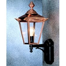 Traditional Copper Lantern Outdoor Wall Light UK Made