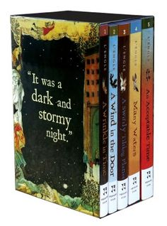 A Wrinkle in Time Quintet Boxed Set - I loved this series as a child, and read all of Madeleine L'Engle when I was young.