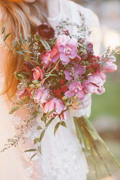 Bouquet Crush :: Bohemian Wildflowers   Cedarwood Weddings