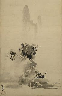 Pittura giapponese, Sesshu Toyo, paesaggio, pittura monocromatica ad inchiostro, sumi-e, suiboku, kara-e, kanga
