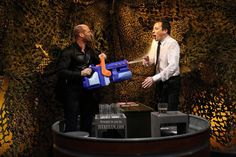 This ep was hilarious!  I think it's the most fun Jay's had on a talk show since the arm wrestling match (: