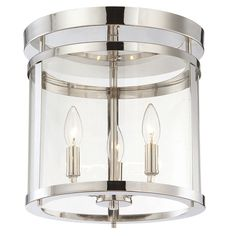 You'll love the Galen 3 Light Semi Flush Mount at Wayfair - Great Deals on all Lighting  products with Free Shipping on most stuff, even the big stuff.